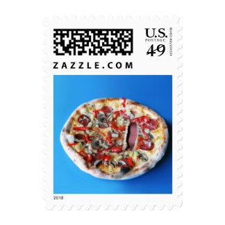 Una cara real de la pizza