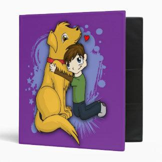"""""""Una carpeta del muchacho y de su perro"""""""