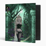 Una carpeta gótica de la fantasía de la historia