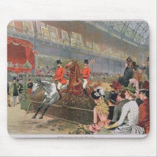 Una carrera de caballos, 1886 tapetes de ratón