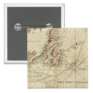 Una carta de los bancos de Terranova Pins