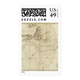 Una carta de los bancos de Terranova Sellos Postales