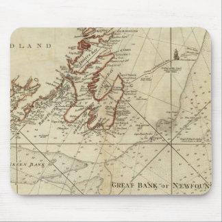 Una carta de los bancos de Terranova Alfombrilla De Ratón