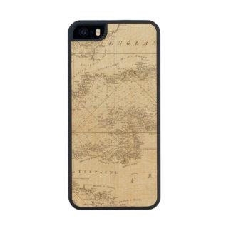 Una carta del canal británico funda de arce carved® para iPhone 5