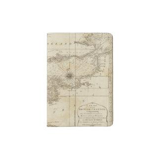 Una carta del canal británico porta pasaporte
