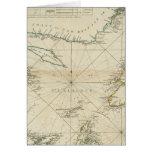 Una carta del golfo de St Lawrence Tarjeta De Felicitación