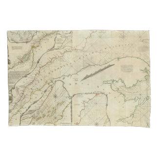 Una carta exacta del río St Lawrence