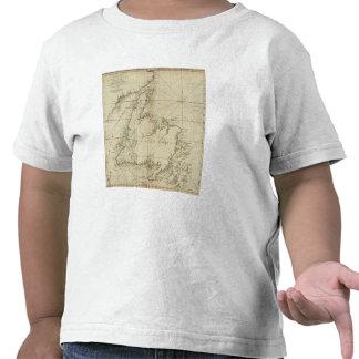 Una carta general de la isla de Terranova Camiseta