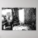 Una casa abandonada en Tejas Impresiones