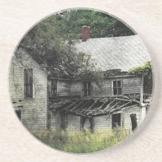 Una casa abandonada Missouri rural Posavasos Diseño