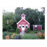 Una casa de la escuela del sitio postal