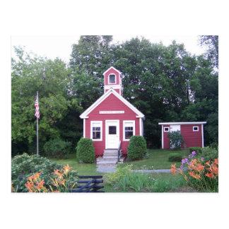 Una casa de la escuela del sitio postales