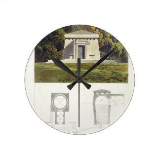 Una casa del hielo, depósito de Ackermann del 'de  Reloj De Pared