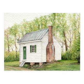 Una casa del sitio tarjeta postal
