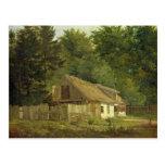 Una casa en el bosque de Frederiksdal cerca Tarjeta Postal