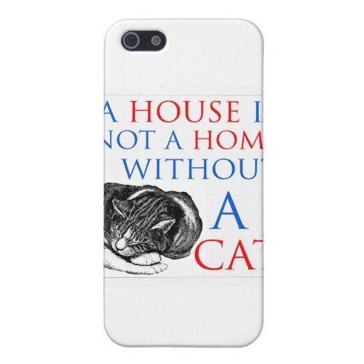Una casa no es un gato casero… iPhone 5 cobertura