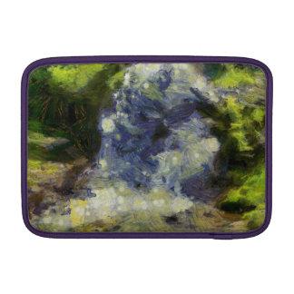 Una cascada hermosa funda para macbook air
