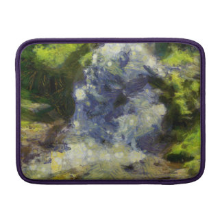 Una cascada hermosa funda macbook air
