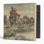 Una caza del rinoceronte en honor de rey George V