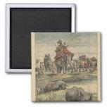 Una caza del rinoceronte en honor de rey George V Imanes