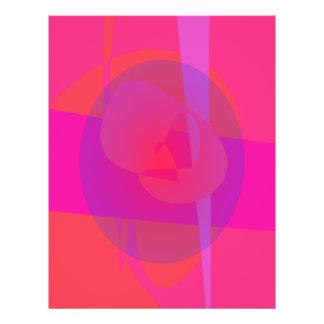 Una célula de color rosa oscuro tarjetas informativas