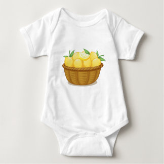 Una cesta de limones polera