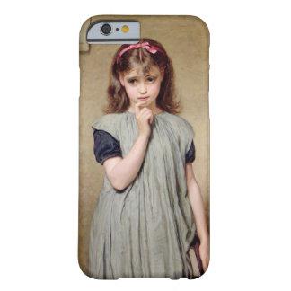 Una chica joven en la sala de clase, 1876 (aceite funda para iPhone 6 barely there