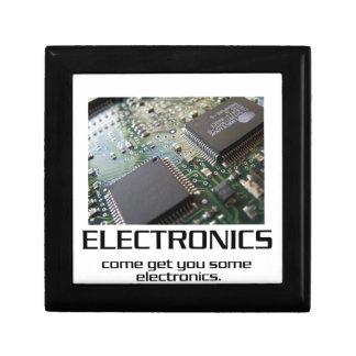 Una cierta electrónica caja de regalo