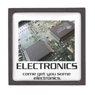Una cierta electrónica caja de regalo de calidad
