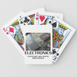 Una cierta electrónica cartas de juego