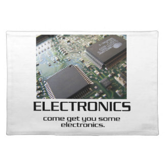 Una cierta electrónica mantel