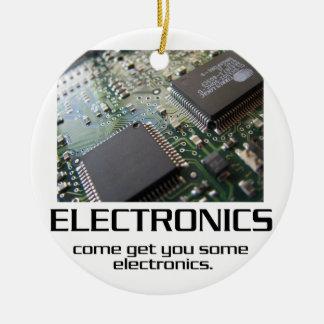 Una cierta electrónica ornamentos de navidad