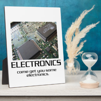 Una cierta electrónica placa