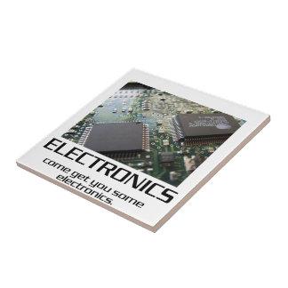 Una cierta electrónica teja  ceramica