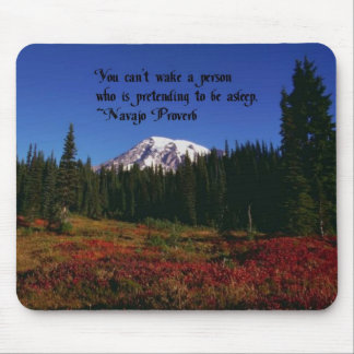 Una cita famosa de Navajo Tapetes De Raton