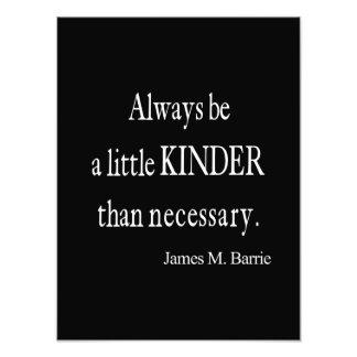 Una cita que necesaria más buena de James Barrie Cojinete