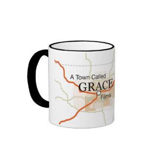 Una ciudad llamó la taza del logotipo de Grace