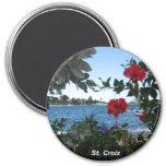 Una clase del St. Croix de día Imán De Nevera