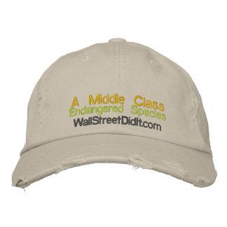 Una clase media especie en peligro WallStreetD… Gorros Bordados