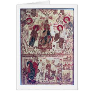 Una clínica, tratado bizantino, siglo XIV (vitela) Tarjetas