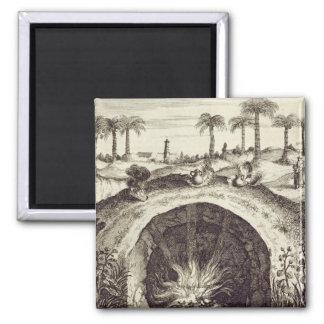 Una cocina subterráneo del vapor del gigante, de ' imán cuadrado