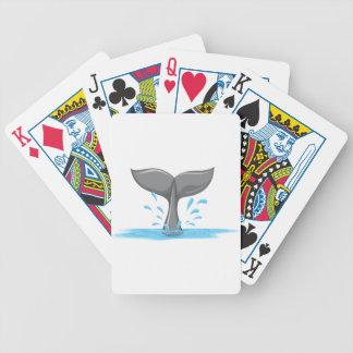 Una cola de una ballena cartas de juego