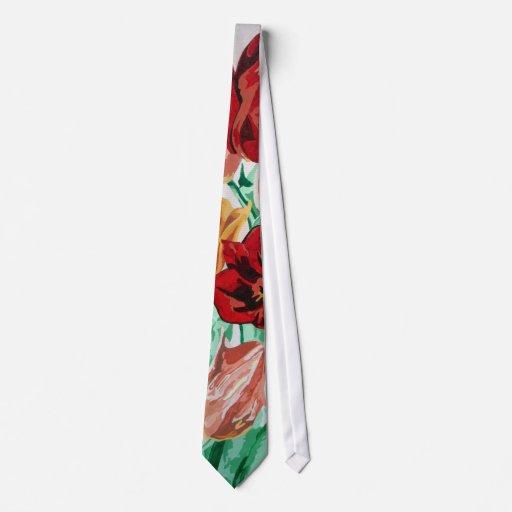 Una colección del tulipán corbata