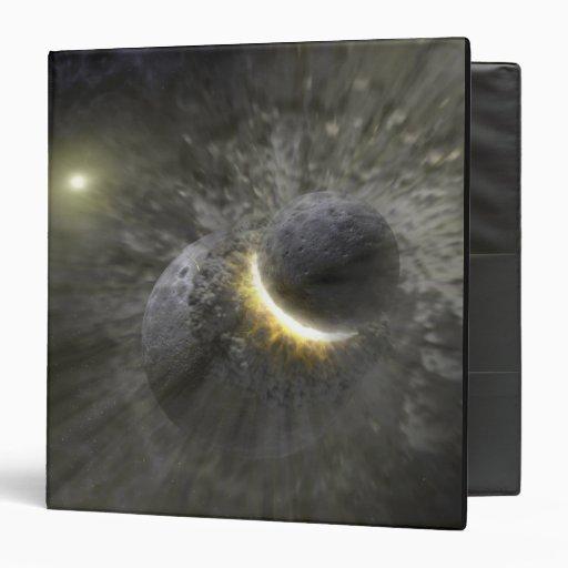 """Una colisión entre los objetos masivos en espacio carpeta 1 1/2"""""""