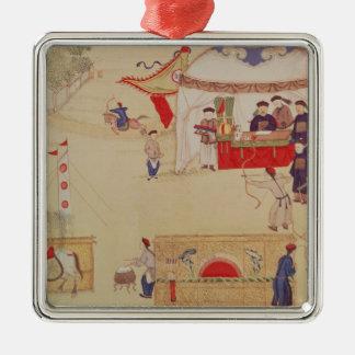 Una competencia del tiro al arco, fin del siglo XV Ornamente De Reyes