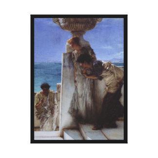 Una conclusión previsible estiró la impresión de l lona envuelta para galerías