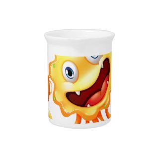 Una consumición acertada del monstruo jarras de beber