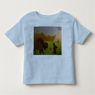Una conversación con un búfalo playera