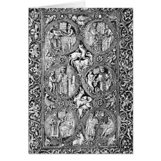 Una copia del salterio de la reina Melisende de la Tarjeta