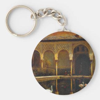 Una corte en Alhambra de señor Weeks de Edwin Llavero Redondo Tipo Pin
